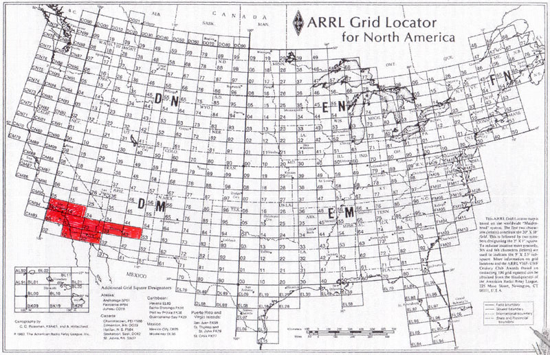 thanks to n6tr for roving through dm23 allowing us to log our own grid